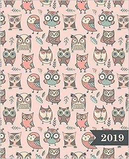 Amazon.com: Agenda 2019 Semana Vista: 190 x 235 mm : Agenda ...