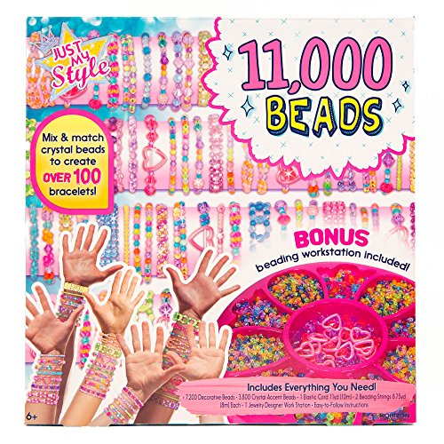 Just My Style 11,000 Beads by Horizon Group USA Bracelet Making Kit
