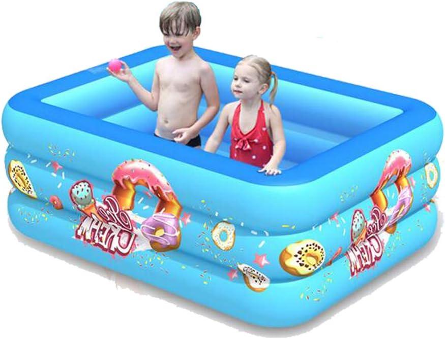 LBWNB Piscina Familiar Piscina Hinchable Infantil Square Pool