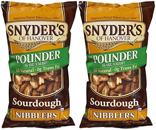 Hanover Sourdough Pretzels (Snyder's of Hanover Sourdough Nibbler Pretzels - 16 oz - 2)