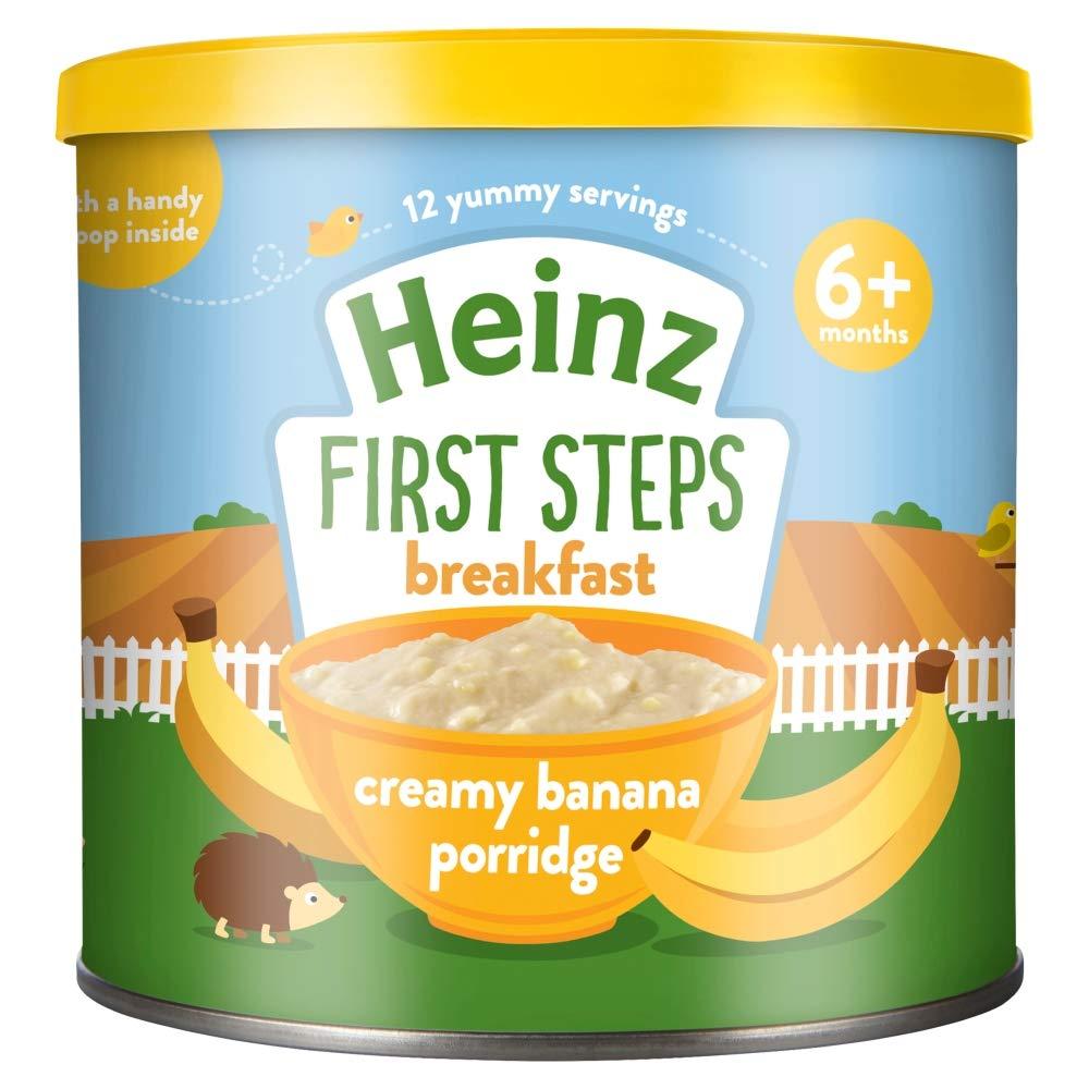 Heinz Baby Tub and Scoop Sunrise Banana Porridge, 240 g