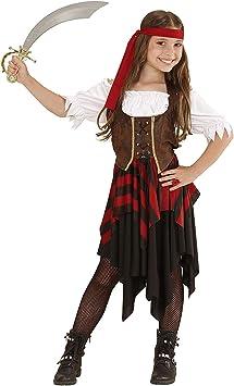 WIDMANN Disfraz 05598 ? Disfraz para niños Pirata, Vestido, corsé ...