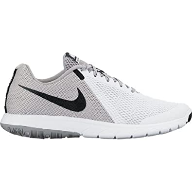 Nike Men's Shox NZ Running Shoe WHITE/BLACK-WOLF GREY - 12.5 D(