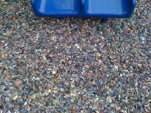 Sample Of Non Tire Jelly Bean Rubber Mulch Handful Sized