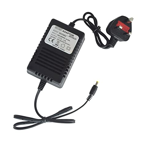 MyVolts 9V power supply adaptor compatible with Numark M4 Mixer - UK plug