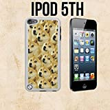 Mr Doge MEME Custom made Case/Cover/skin FOR Apple iPod 5/5th Generation -White- Plastic Snap On Case ( Ship From CA)