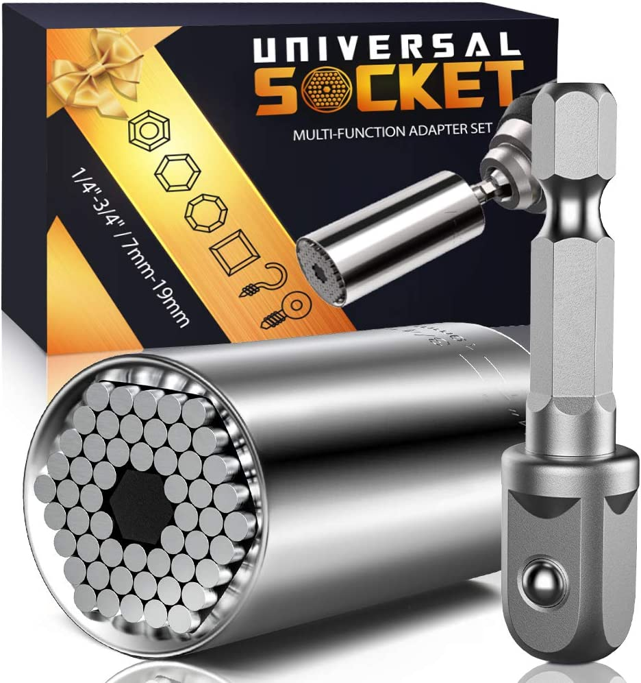 Gifts for Men Dad – Universal Socket Tools – Gadgets for Men