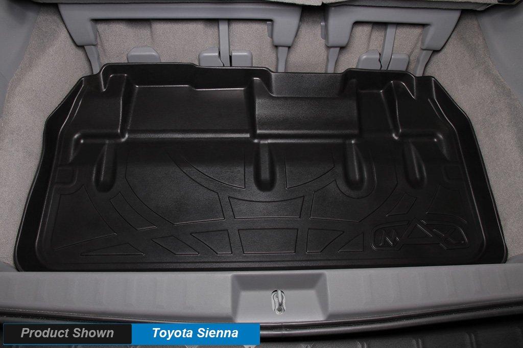 MAXFLOORMAT Floor Mats and MAXTRAY Cargo Liner Set Black for 2013-2018 Toyota RA