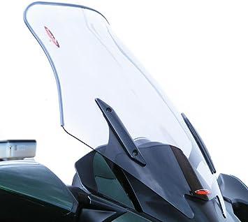 Powerbronze 420-K140-001 flip//tall screen to fit Kawasaki Versys 650 Light tint