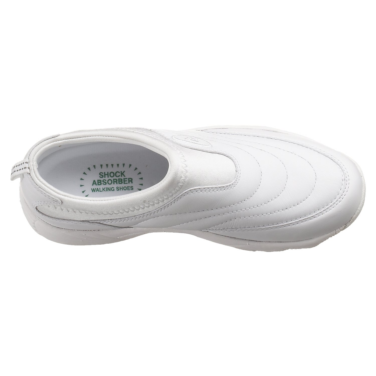 Propet Women's W3851 Wash & Wear Slip-On B000BO61DK 6 M (US Women's 6 B)|White