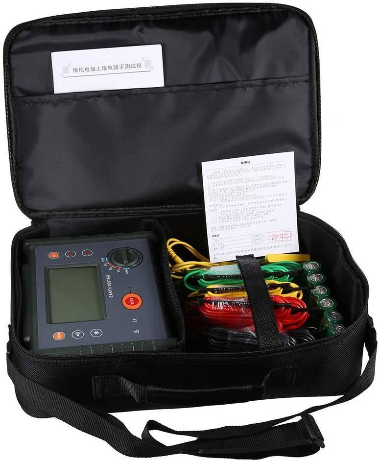 ZYL-YL FR3010E Ground Resistance Soil Resistivity Meter Four-Wire Grounding Resistance Tester The Soil Resistivity Tester