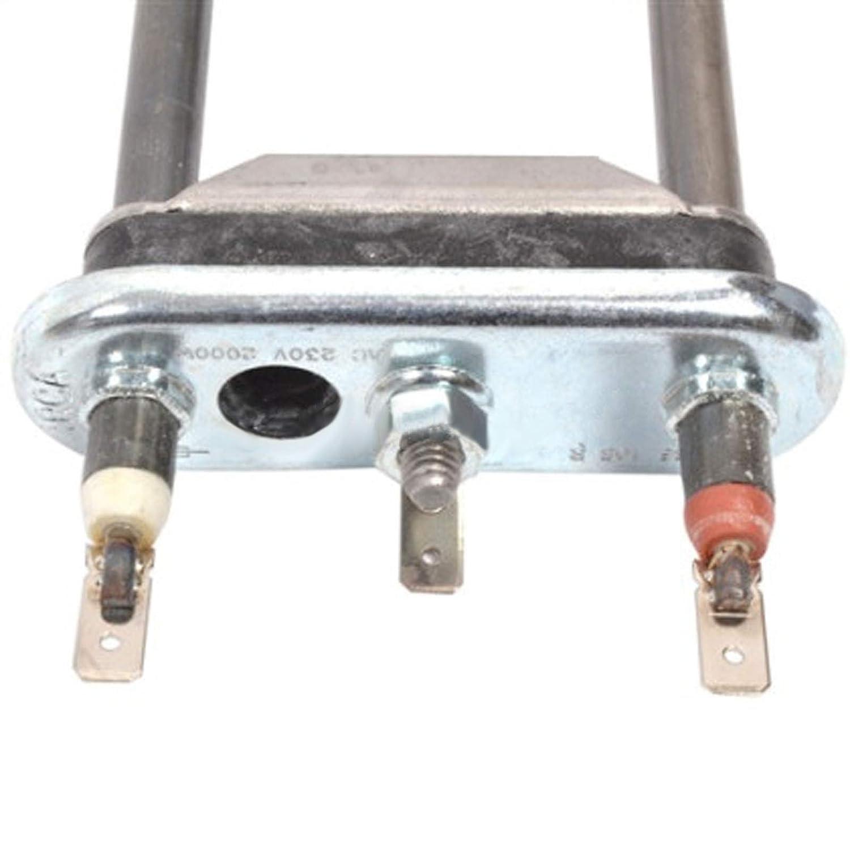 Spares2go - Elemento calefactor para lavadora Samsung WM50401 ...