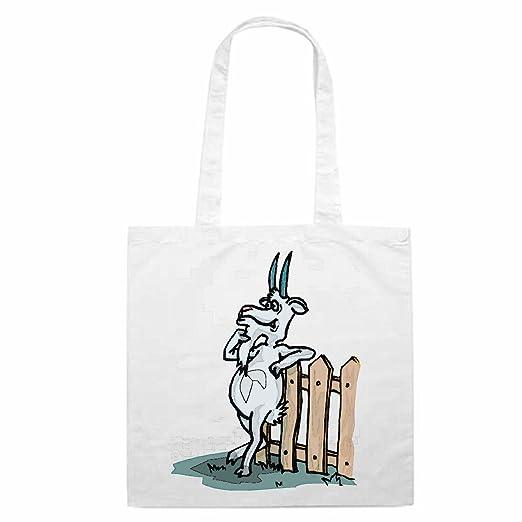 Tasche Umhangetasche Motiv Nr 10629 Ziege Durch Den Zaun Cartoon