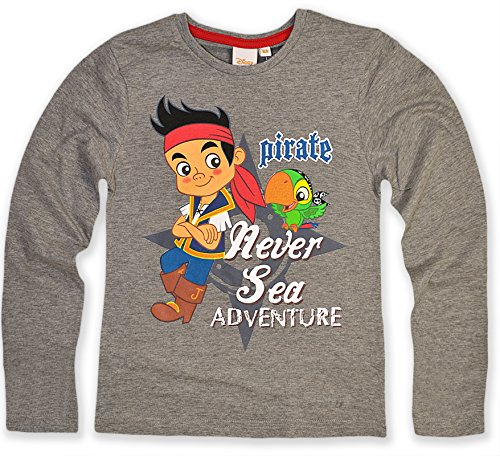Boys Jake And The Neverland Pirates T Shirt Boys Disney Top New 3 4 5 6 Years