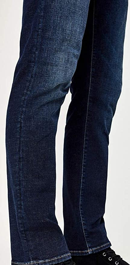 Mavi Men/'s Jean ZACH Straight Leg in DEEP Brushed Cashmere JEANS 0045326555