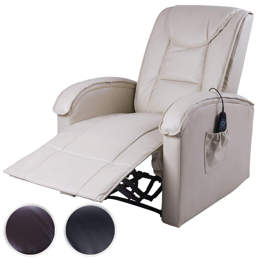 Miadomodo Fernsehsessel Relaxsessel Mit Wärme Massagefunktion