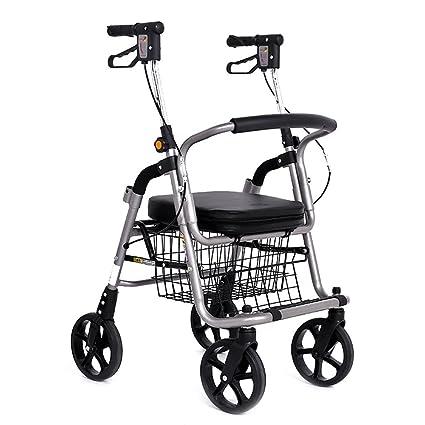 Carritos de la compra Trolley Coche Andador Anciano Scooter Carro de Ruedas Silla de Ruedas Se