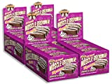 Lenny and Larrys mulIK Muscle Brownie Cookies and Cream, 2.82-Ounce Package, 48 Bars
