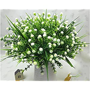 Lopkey Plastic Baby's breath flowers Gypsophila Artificial flower for Home/Wedding/Office Decor 40