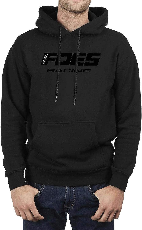 XQHNG Foes-Racing-Logo Mens Novelty Pullover Hoodies Long Sleeve Sweatshirts