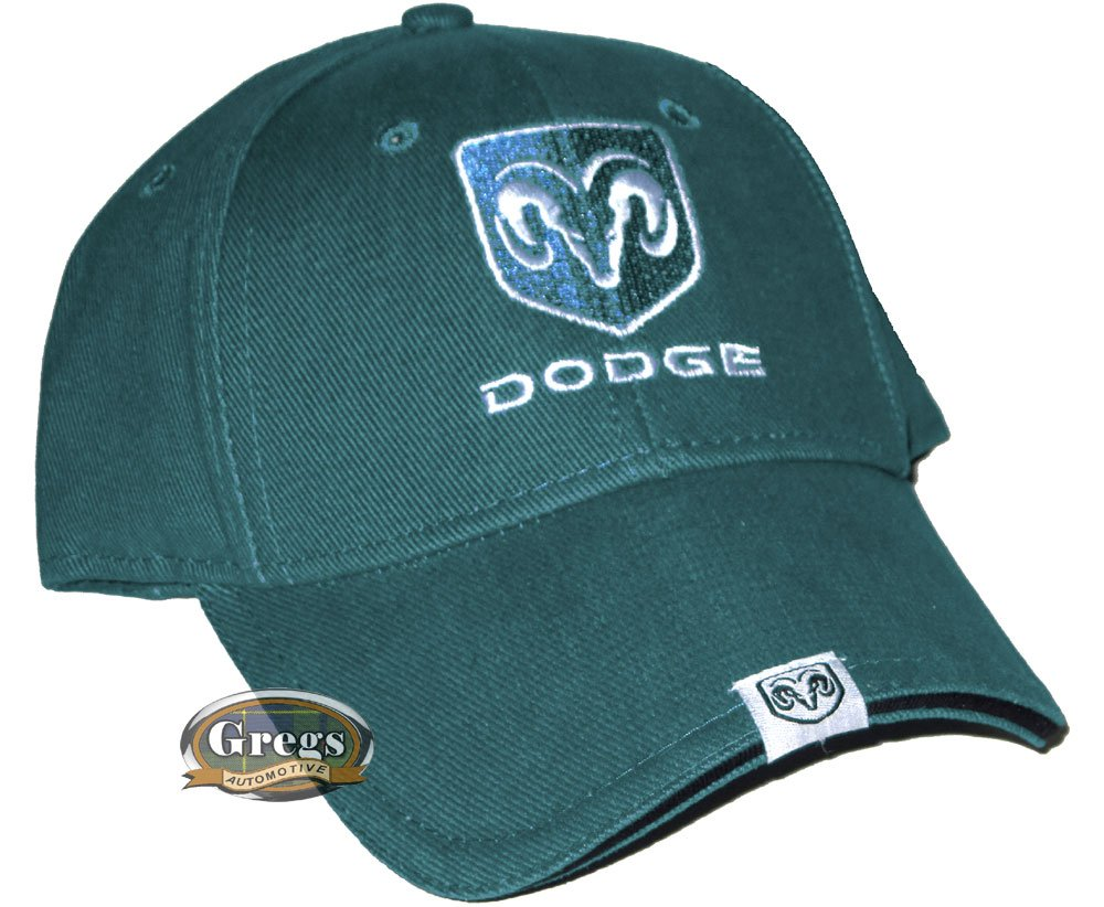 Bundle with Driving Style Decal 187BL-1 Gregs Automotive Dodge Ram Hat Cap in Blue