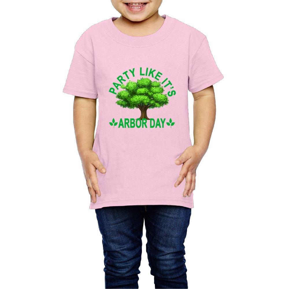 Moniery Short Sleeves T Shirts Arbor Day Gift Girl S 8622