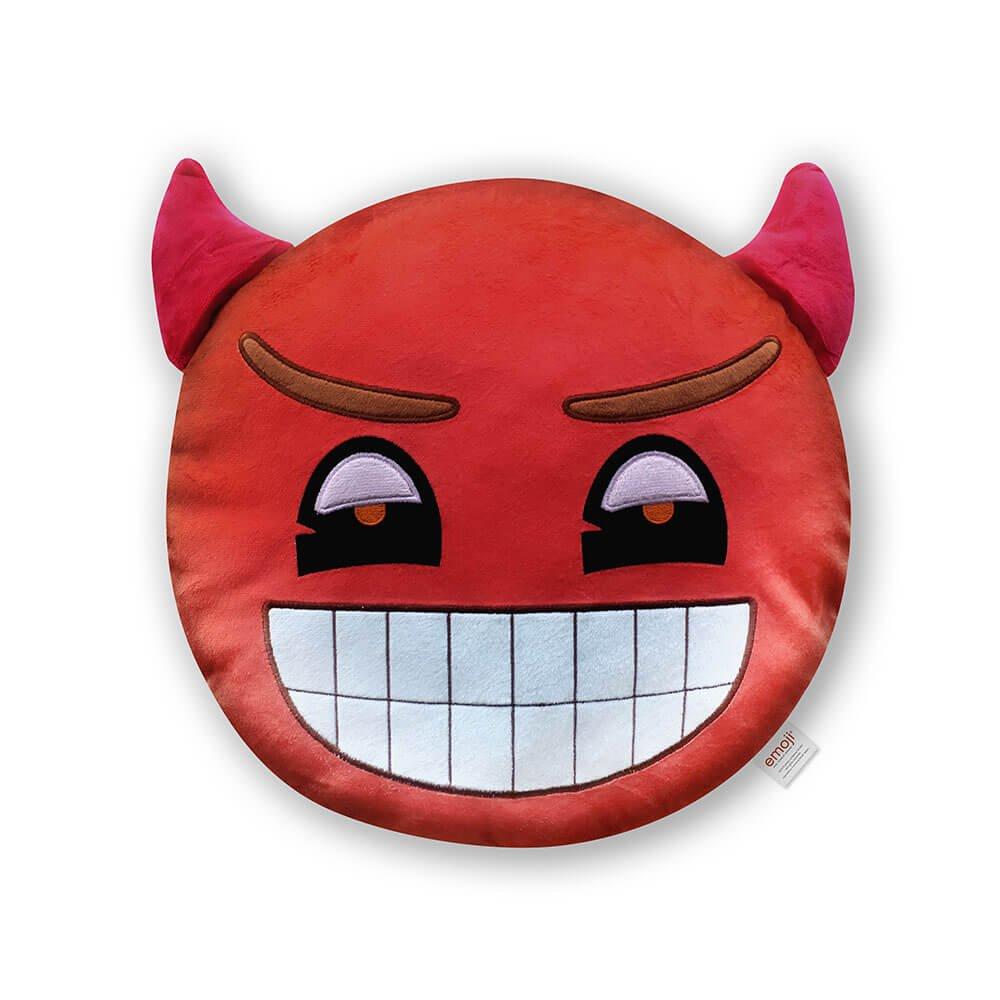 Emoji Cojín Diablo Oficial, Color Rojo (PIW_Red_Devil_EB ...