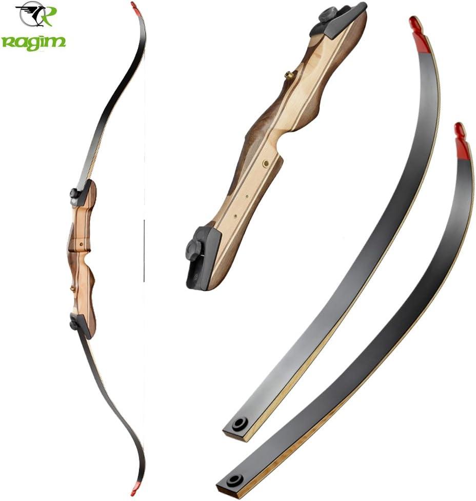 14-40 lbs RAGIM Wildcat Black Recurvebogen 64 Zoll