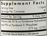 Pyridoxine P5P (B-6) 60 Capsules