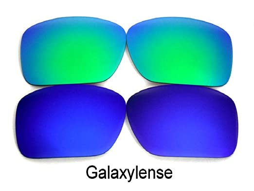 6005ff271f Galaxy Replacement Lenses For Oakley Ten-X Sunglasses Blue Green Polarized  Multi Size  Regular  Amazon.co.uk  Clothing
