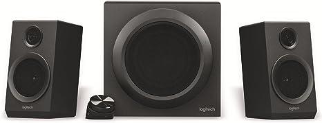 Logitech Multimedia-Lautsprechersystem Zertifiziert Z333 Schwarz