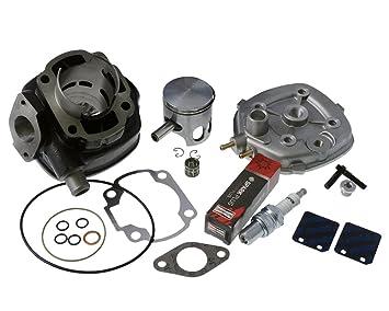 zylinderkit 70 ccm Polini Corsa Racing para Aprilia Rally 50 cc, SR, Sonic, Benelli 491 RR, réplica: Amazon.es: Coche y moto