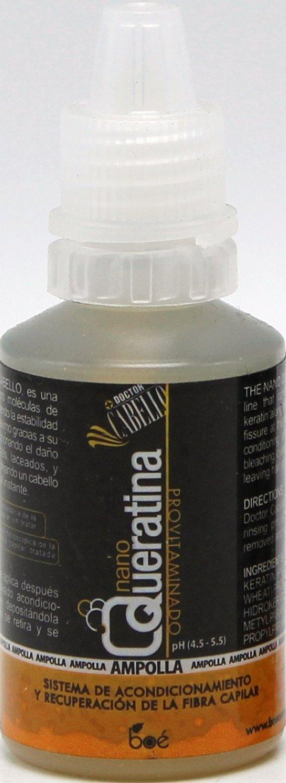 Nano queratina - queratina ampollas 2 x 20 ml - condiciones y reparaciones daños causados por la decoloración, alisado y colorear, Queratina Leave In ...