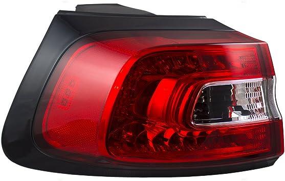 14-18 Jeep Cherokee New Rear Bumper Reflector Left Side Red Mopar OEM New