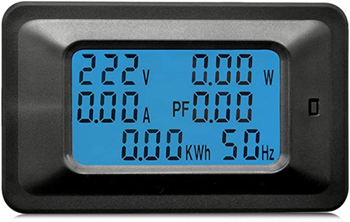 6 in 1 Multifuctional AC 110-250V 0-100A LCD Display Digital Voltmeter Ammeter Combo Meter