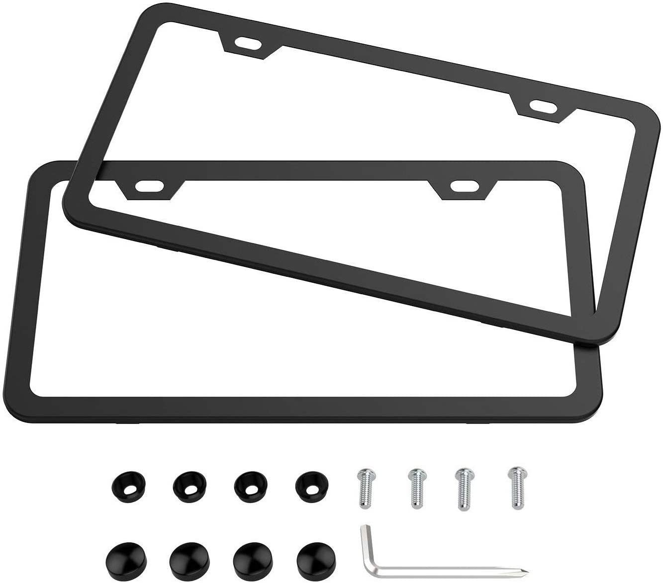 Car Truck Supercharged License Plate Frame Cover 6x12
