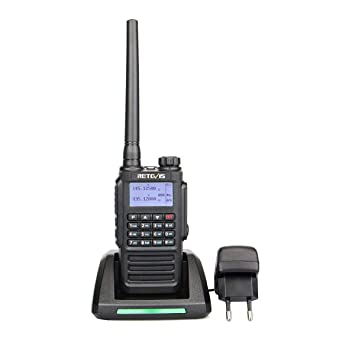 Retevis RT87 Walkie Talkie Recargable 5W Doble Banda IP67 ...