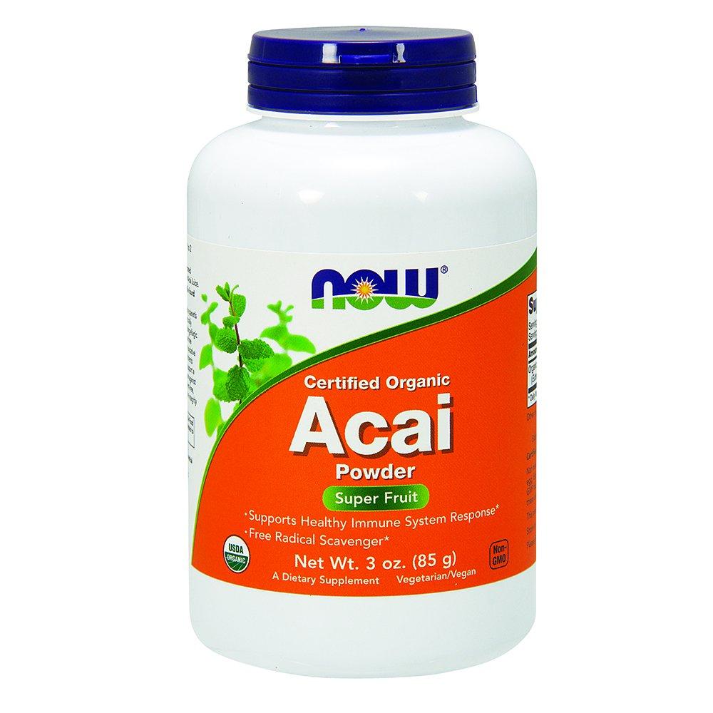 海外直送品 Now Foods Acai Organic Powder, Organic Powder 3 OZ B001UZLOAO