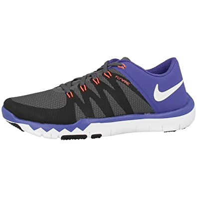 new product 813aa 529ef Nike Free Trainer 5.0 V6 Laufschuhe dark grey-white-black-persian violet -  47, 5  Amazon.co.uk  Shoes   Bags