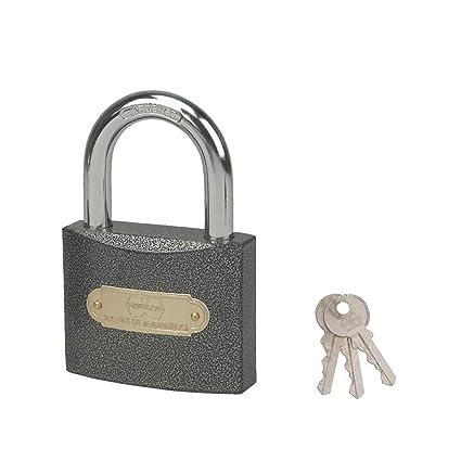 Harrison C I-0321 Iron 3 Pins Padlock with 3 Keys