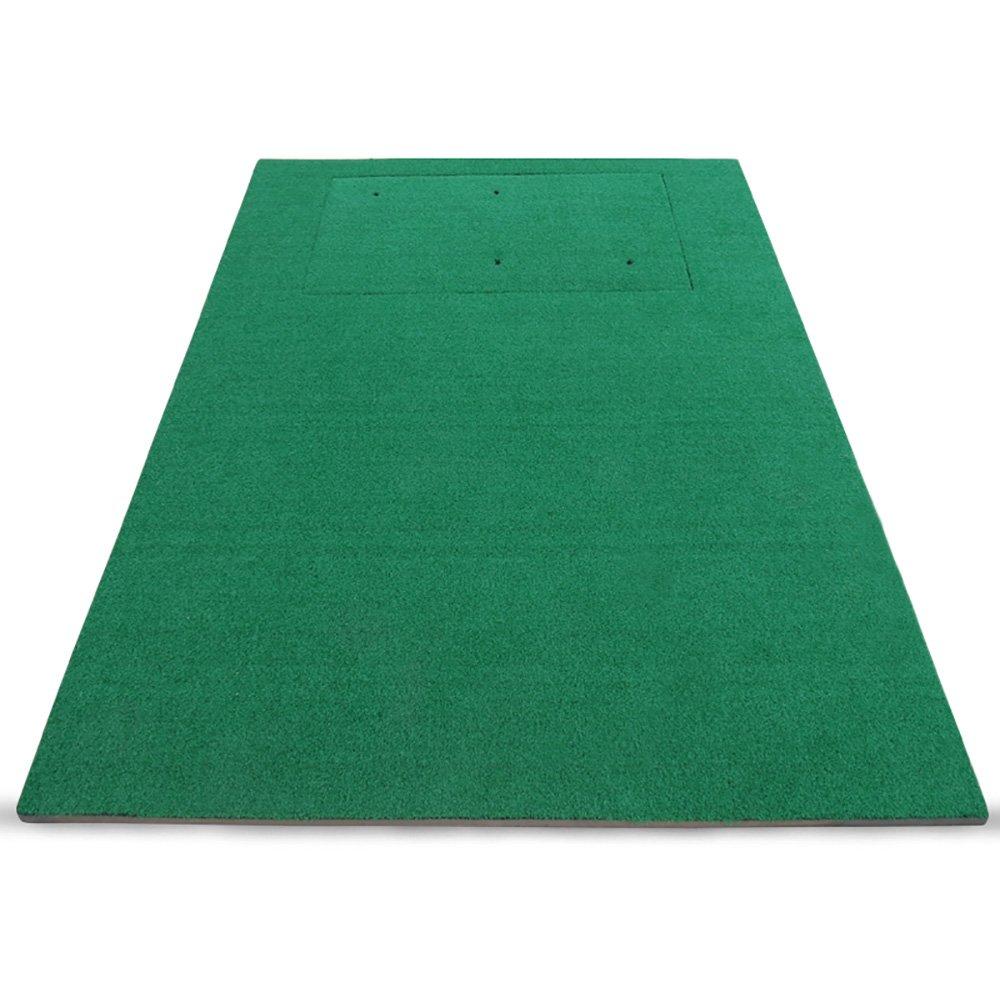 ZJRGolf トレーニングマット ゴルフスイングブローマット アウトドア練習用ブランケット 150×170cm & B07K313ND1
