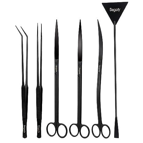 Amazon.com: Segarty Kit de herramientas para acuario, larga ...