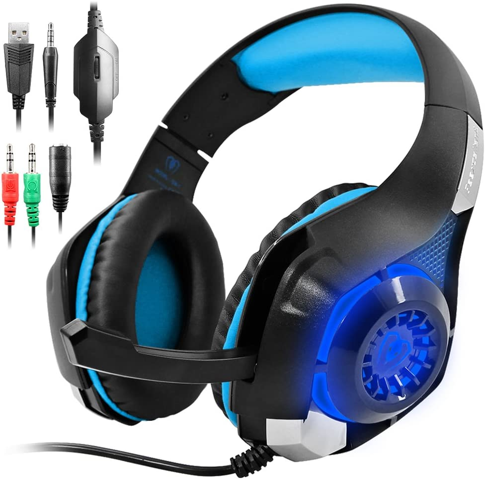 AFUNTA GM 5 Gaming Headset for PS4 Xbox