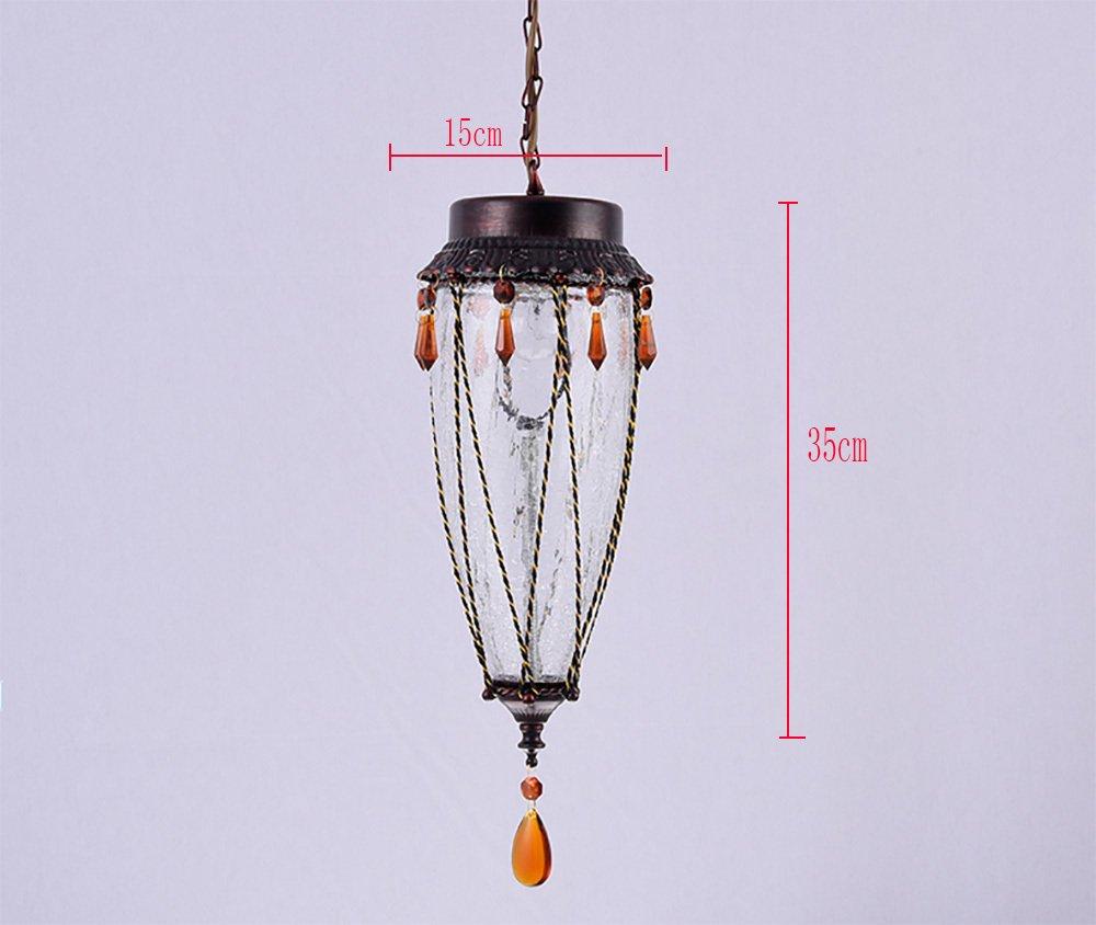 TOTO-rom/ántica de color caf/é con l/ámparas de cristal gato difusa barra de caf/é sac/ó Shuba l/ámparas bar de la cubierta del pasillo del pasillo
