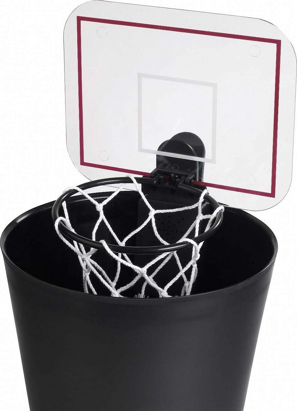 Comercial framan Canestro da Basket per pattumiera con Suono al Centesimo Ideale per casa e Ufficio Cestino da Basket per pattumiera