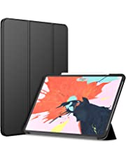 JETech Case for iPad Pro 12.9-Inch (3rd Generation 2018 Model, Edge to Edge Liquid Retina Display), Compatible with Apple Pencil, Cover Auto Wake/Sleep, Black