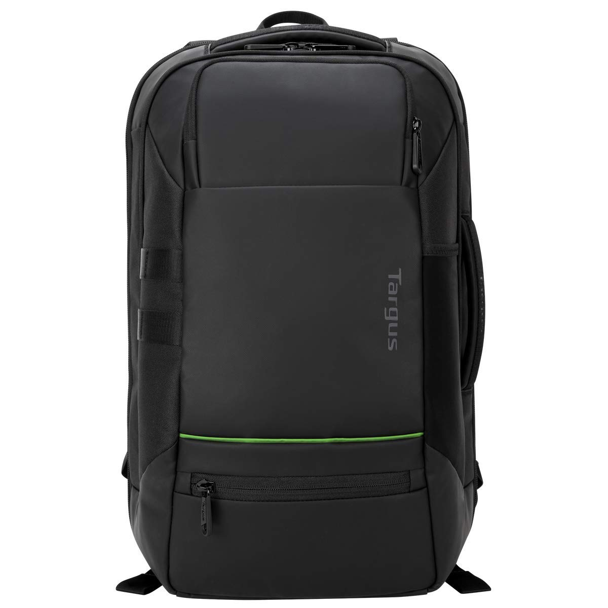 Targus Balance EcoSmart Travel and Checkpoint-Friendly Laptop Backpack with Protective Sleeve for 15.6-Inch Laptop and Felted Phone Pocket, Black TSB921US