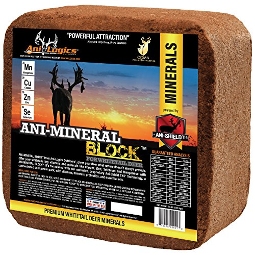 Ani Logics Outdoors Deer Mineral Block , 20 lb by Ani-Logics Outdoors (Image #1)