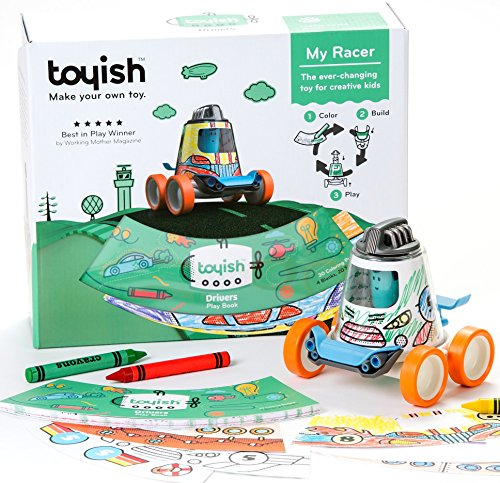 Charming Toyish AWARD-WINNING​ ​instructional STEM toy for artistic youngsters. studying magnetic​​ constructing toy​s​ for boy and woman. Very best for three years ​toddler – As much as the age of eight. Automotive Racer toy Equipment.  Opinions