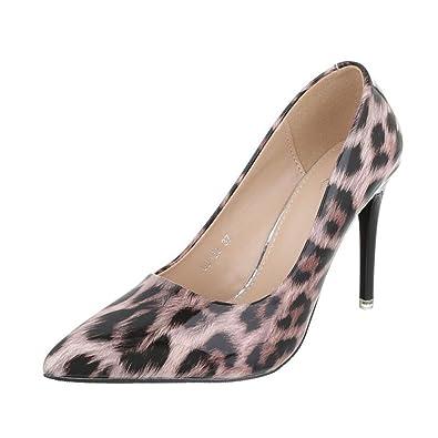 Cingant Woman Damen Pumps/Stilettoabsatz/High Heels/Damenschuhe/Elegante Schuhe/Schwarz, EU 39